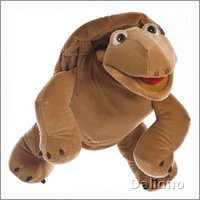 Living Puppets hand puppet large Sammy the turtle