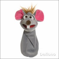 Living Puppets sockette hand puppet Bille the mouse