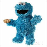 Living Puppets hand puppet Cookie Monster - XS