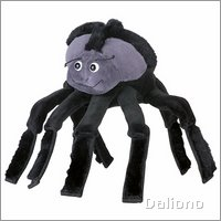 Hand puppet Spider - by Beleduc