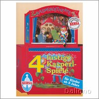 Text book with 4 game lyrics for puppet theater - Kersa