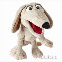 Living Puppets hand puppet Kuddelmuddel the dog
