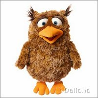 Living Puppets hand puppet Eulalie the owl