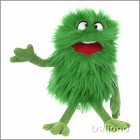 Living Puppets hand puppet Schlick - monster to go!