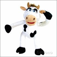 Living Puppets hand puppet Chantal the cow
