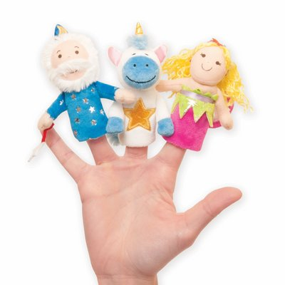 Finger puppet set - merry mysticals (3 characters)