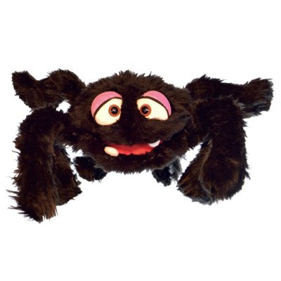 Living Puppets hand puppet Minna the spider