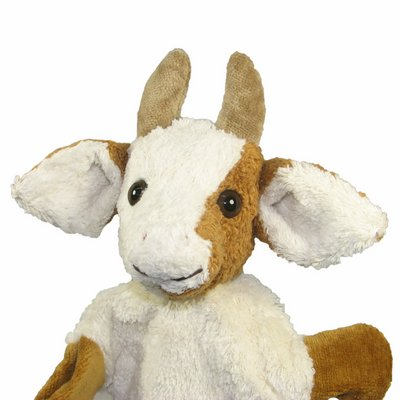 Hand puppet cow - made of natural material - by Kallisto