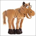 Living Puppets hand puppet Helge the horse