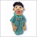 Hand puppet Doctor - by Melissa & Doug