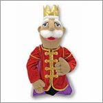 Hand puppet King - by Melissa & Doug