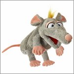 Living Puppets hand puppet Schnurzpiepe the mouse